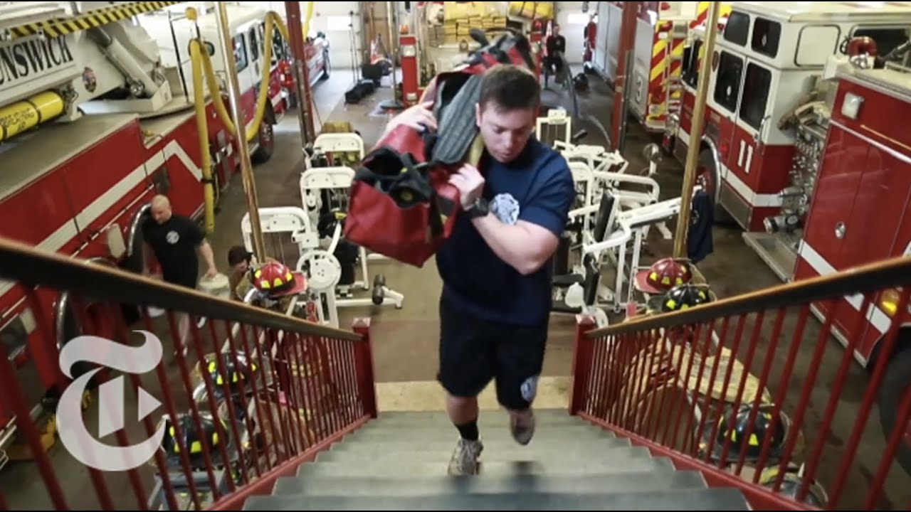 The Firefighters Workout The New York Times YouTube