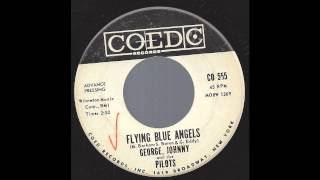 George, Johnny & The Pilots - Flying Blue Angels - '61 Space Age Pop on Coed - DJ / Promo