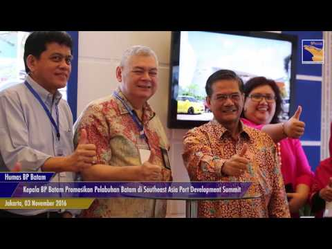 Kepala BP Batam Promosikan Pelabuhan Batam di Southeast Asia Port Development Summit