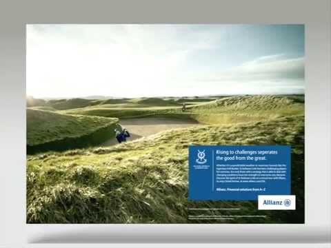 Allianz St Andrews Links Promotion Video