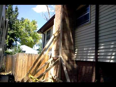 Repair Leaning Chimney Denver Part 2 Youtube