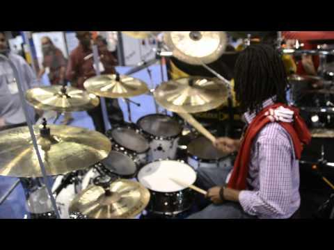 Evolution Drum Gear (EDG) - George Johnson Jr. PDC drums W.NAMM 2015