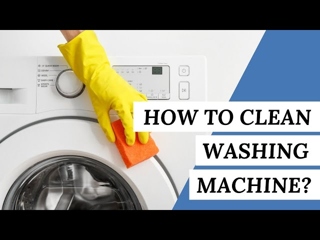 How to Clean A WASHING MACHINE? | Cleaning Tips #short