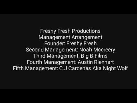 New Freshy Fresh Productions management Arrangement