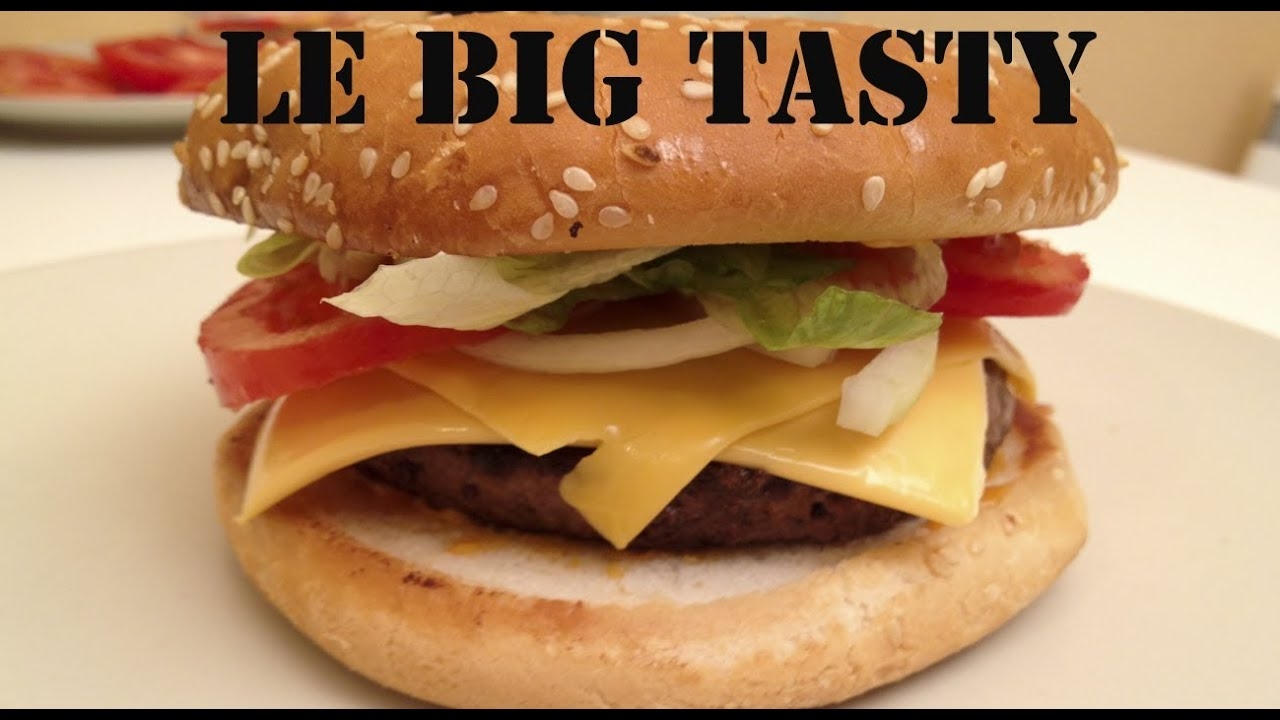 Connu Comment faire le Big tasty de Mcdo | FastGoodCuisine - YouTube QH46