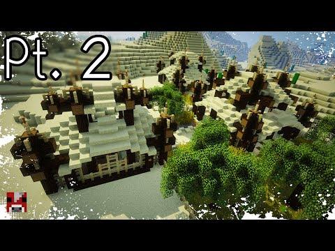 Minecraft Timelapse - Desert Base - Pt. 2 Of 2 (WORLD DOWNLOAD)