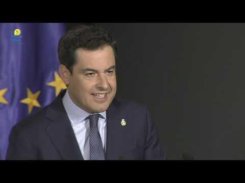 Moreno anuncia suspensión temporal de la actividad docente presencial en Andalucía
