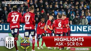 tipico Bundesliga, 16. Runde: LASK - SK Rapid Wien 0:4 (0:1)