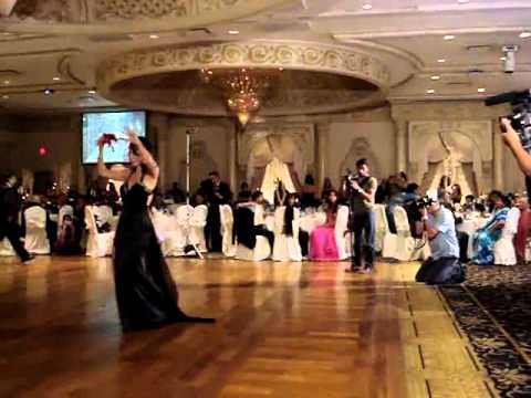 حفل زواج فتاة افغانية ة شاب أمريكية في افغانستان
