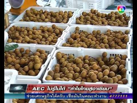 AEC ไม่รู้ไม่ได้ - ลำไยไทยสู่อาเซียน