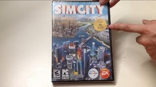 SimCity (PC) Unboxing