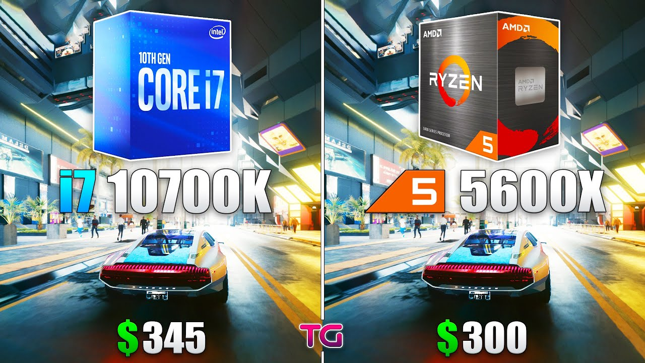 i7 10700K vs Ryzen 5 5600X - Which CPU is Better for Gaming?