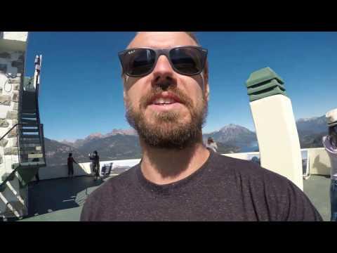 The amazing view from Cerro Campanario in Bariloche, Argentina