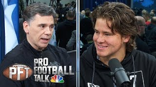 NFL Draft: Justin Herbert defends staying at Oregon for senior year | Pro Football Talk | NBC Sports