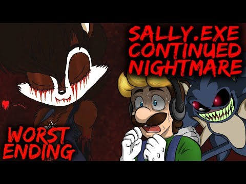SALLY.EXE: CONTINUED NIGHTMARE - WORST ENDING & BRAND NEW SALLY STAGE! [SONIC.EXE NB SEQUEL]
