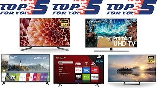 Top 5 Best 49 Inch 4K Ultra HD Smart TVs 2018