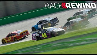 Race Rewind: Custer's 4 wide finish in 15 minutes | NASCAR Cup Series at Kentucky Speedway