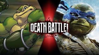 Zitz VS Leonardo (Battletoads VS Ninja Turtles) | DEATH BATTLE!