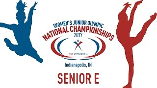 2017 Women's Junior Olympic National Championships - Senior E