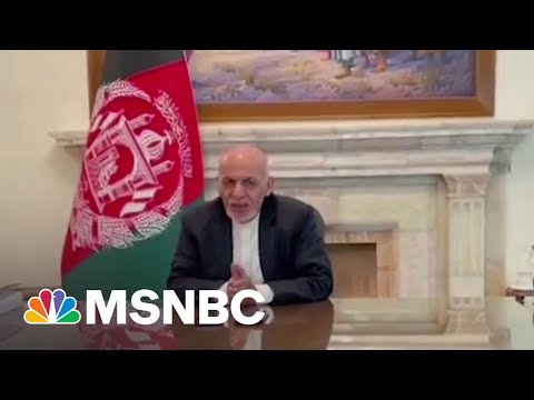 Afghanistan President Ghani Flees The Country Amid Kabul Collapse to Taliban