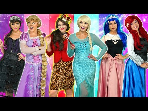 PRINCESS WILD TWINS FAIRY GODMOTHER SAVES RAPUNZEL ARIEL AND BELLE Totally TV