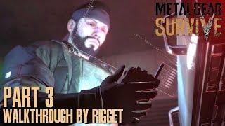 Metal Gear Survive Прохождение Часть 3 Шумная инфильтрация