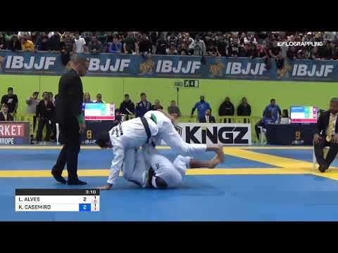 Lucas Lepri vs Kaynan Duarte Highlights - IBJJF European Championships 2019