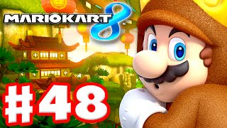 Mario Kart 8 - Gameplay Part 48 - 100cc Egg Cup and Triforce Cup DLC (Nintendo Wii U Walkthrough)
