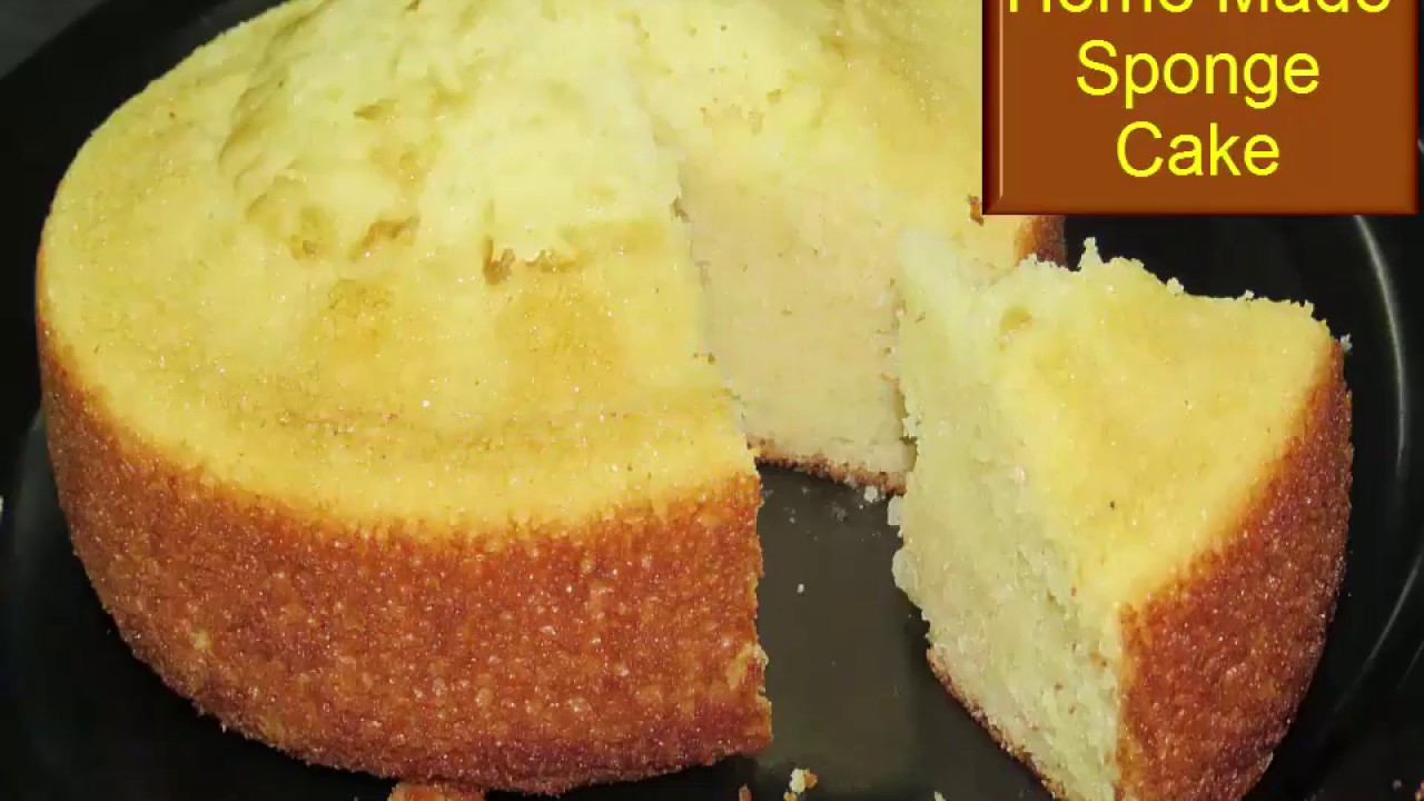 How to make cake without milk powder in cooker