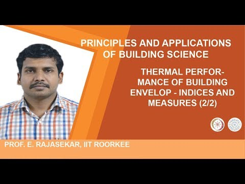 THERMAL PERFORMANCE OF BUILDING ENVELOP - Indices and measures (2/2)