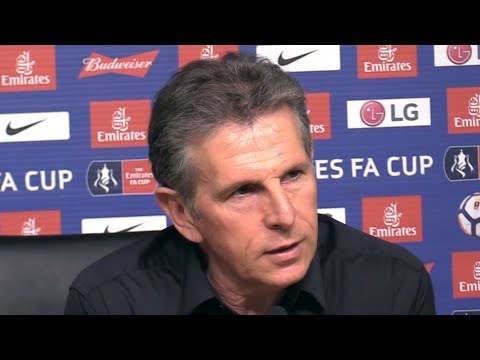 Claude Puel Full Pre-Match Press Conference - Leicester v Chelsea - FA Cup