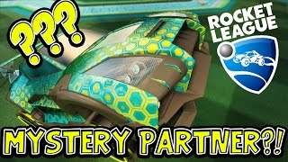 SquiddyPlays - ROCKET LEAGUE! - MY MYSTERY PARTNERS?!