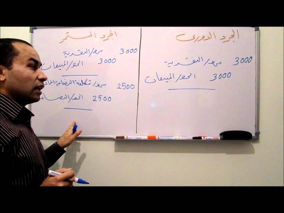 المحاسبة المالية 35 - حركة البضاعة
