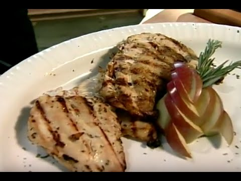Chicken: How to Grill the Best Breast - Using a Brick!
