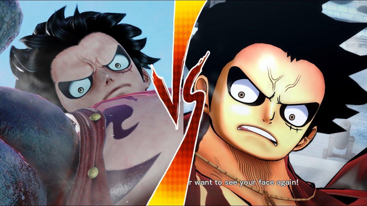 Jump Force VS One Piece: Burning Blood-Skills Awakenings & Ultimate Attack Comparison