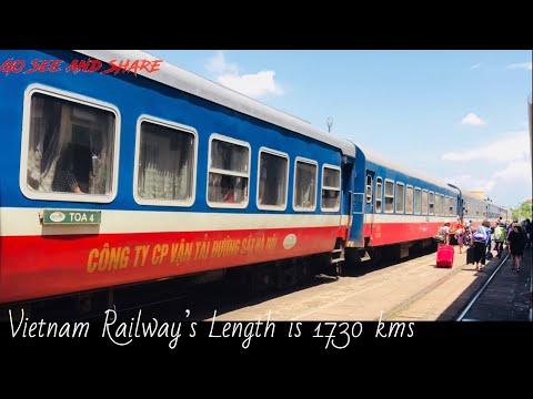 VIETNAM RAILWAY l HANOI PUBLIC TRANSPORTATION l FROM HANOI TO HUE