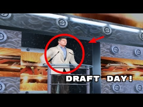 WWE Smackdown: Shut Your Mouth Career Mode - Part 1 - Draft Day!