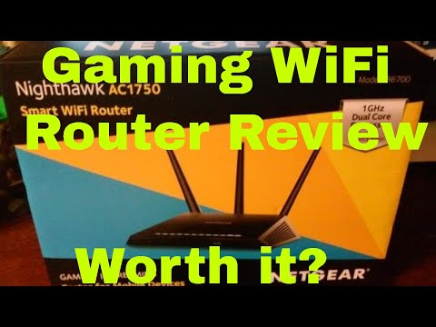 NETGEAR R6700 Nighthawk AC1750 Dual Band Smart WiFi Router Review - Best N  Router