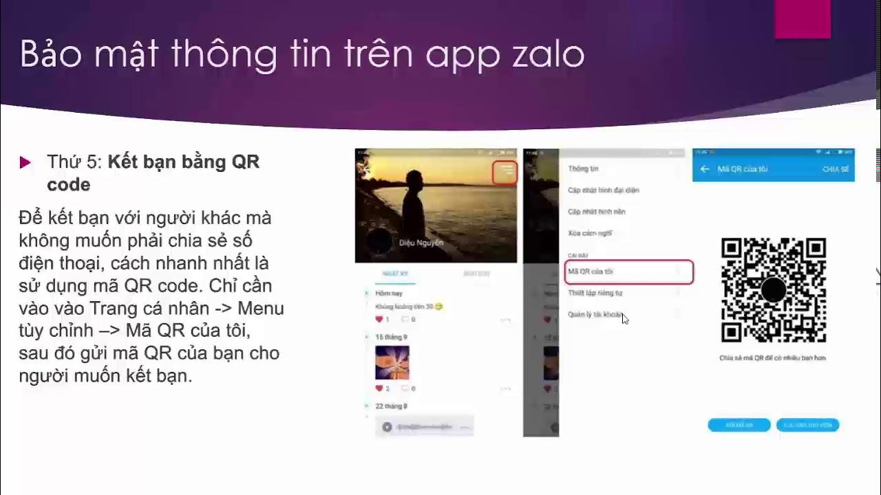 Cách kết bạn Zalo bằng QR code mà không cần dùng số điện thoại