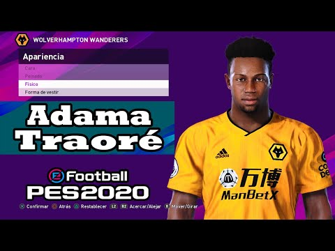 Adama Traore Pes 2020 Youtube