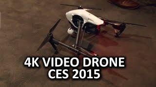 Badass Camera Drone DJI Inspire 1 - CES 2015