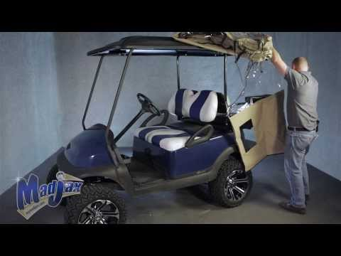 Madjax® Golf Cart Enclosure | How to Install Video | Madjax® Golf Cart Accessories