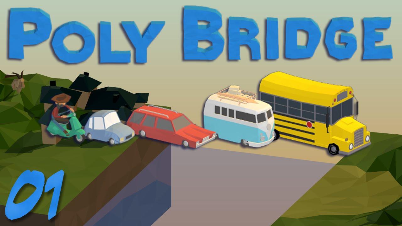 Poly Bridge Playthrough
