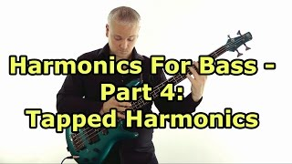 Tapping Harmonics On Bass Guitar (L#78)