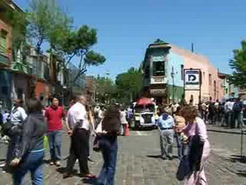 Argentine Vidéo de la capitale Buenos-Aires
