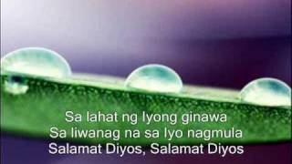 Thank You Lord (Don Moen) Tagalog Version