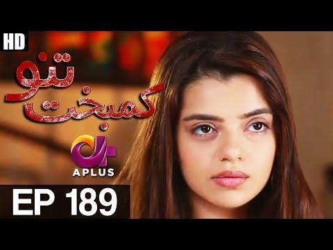 Kambakht Tanno - Episode 189  - A Plus ᴴᴰ Drama
