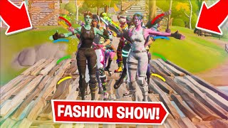 Fortnite | Fashion Show! Skin Competition! Best DUOS & EMOTES WINS! [1/8]