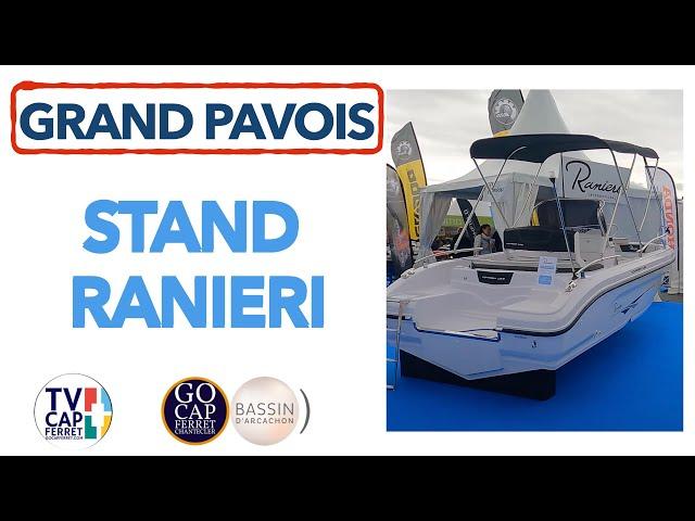 Grand Pavois La Rochelle 2021 #15 Visite du Stand Ranieri