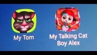 My Talking Tom Vs My Talking Cat Alex